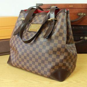 LOUIS VUITTON Damier Hampstead GM Purse Handbag